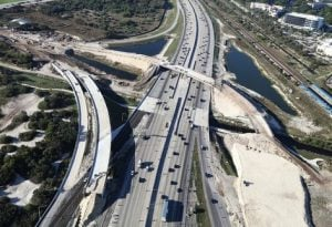 New Boca Raton Spanish River Exit Construction