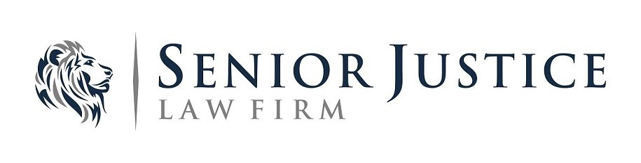 Senior Justice Law Firm Logo - with a Lion - Port St. Lucie nursing home abuse lawyers
