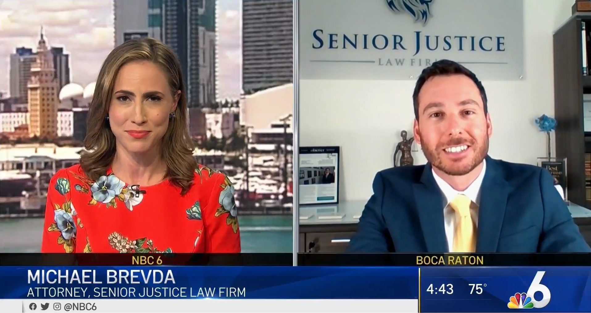 Attorney Michael Brevda on NBC